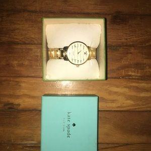 Kate Spade Gold Watch.